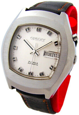Orient Herrenuhr Automatic day date Tag Datum mens watch 21 Jewels OS469A124