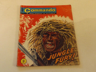 Commando War Comic Number 09,1961 Issue,good For Age,57 Years Old,very Rare.