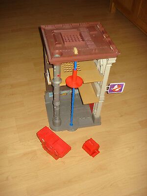 "Real Ghostbusters KENNER "" Hauptquartier Fire Station"" mit Geistercontainer"