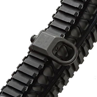 Sling Mount Plate Adaptor Attachment fits 20mm Picatinny Rail Adapter Black US