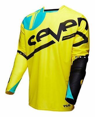 SEVEN 7- RIVAL jersey ZONE yellow EXTRA LARGE 333069505