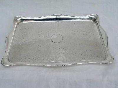 Superb Hallmarked English Silver Dressing Table Tray By Robert Pringle & Sons.