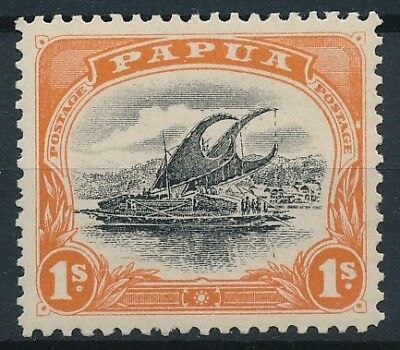 [38402] Papua 1907/10 Boat Good stamp Very Fine MH