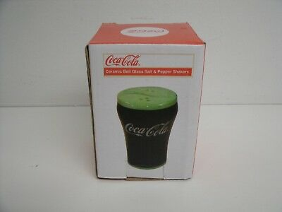 Coca Cola Glass Salt And Pepper Shakers