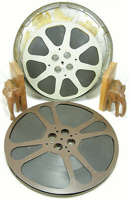 NOTORIOUS 1946 FILM on two large reels with Cary Grant possibly movie theater ed