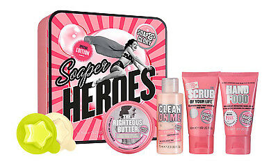 ***new*** Soap & Glory - Soaper Heroes Special Edition Tin Box Gift Set