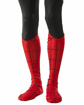 BRAND NEW Adult Spider-Man Boot Tops Covers Costume Accessories