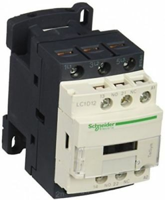 Schneider 3 Pole Contactor 12A 3P Lc1D12N7 5.5Kw/400 7.5Hp/480V