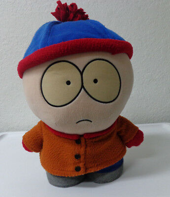 "South Park Stan Marsh stuffed toy 12""x7"" big  heavy used not sure if talks 1998"