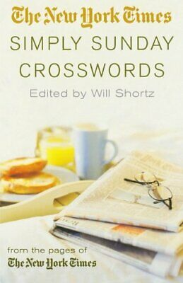 The New York Times Simply Sunday Crosswords Book The Cheap Fast Free Post