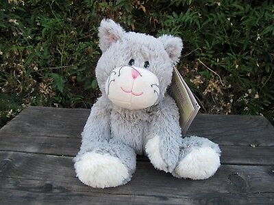 Intelex Warmies Kitty Cat Microwavable Stuffed Animal Lavender Scented NWT