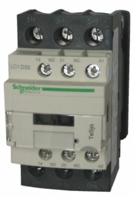 NEW Schneider LC1D32N7 TeSys D Contactor 32A 415V 3 Pole  15kW