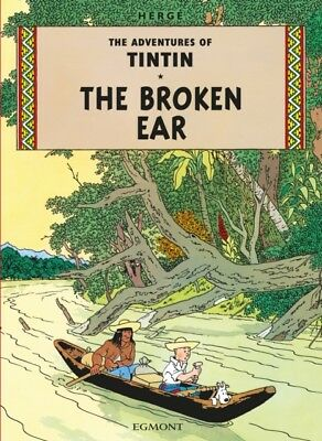 The Broken Ear (The Adventures of Tintin) (Paperback), Herge, 978...