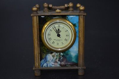 Collectible Old Made Hand-mechanical the West Used the West Clock chinese