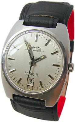 Primato Super Automatic Vintage Herrenuhr classic swiss made mens watch 25Jewels