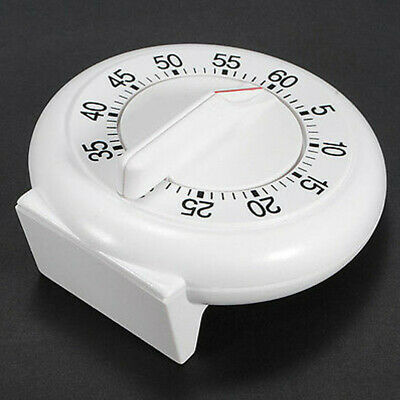 Hot 60 Minutes Kitchen Timer Cooking Ring Mechanical Counter WIND-UP Alarm Clock