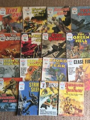 x16 Issues BATTLE PICTURE LIBRARY COMIC Books 1970 to 1983 inc 1'3 FIRE ONE