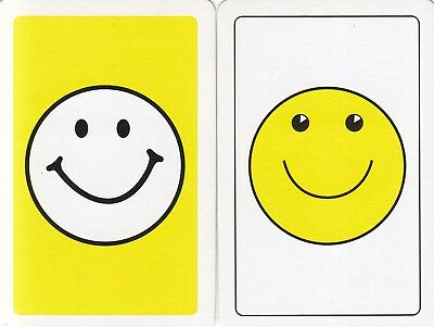 Genuine Swap / Playing Card - 2 Single -  Smiley Face
