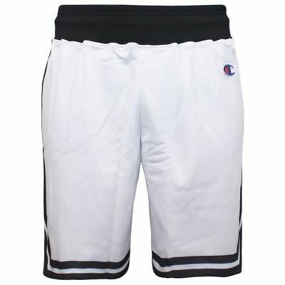 Champion Authentic Athletic Apparel White Polyester Mens Shorts 206664 006 K