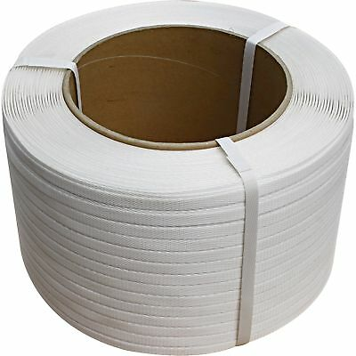 Ironton 1/2In. Poly Strapping - 4,500Ft. Roll, 8In. x 8In. Core