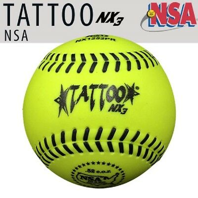 "1dz AD Starr NX1252PR NSA 12"" Softball 52 COR / 275 LBS One Piece Urethane Cover"