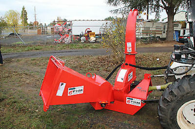 "Wood Chipper 6""dia. Hydraulc Feed Cat.I&II 3pt 35HP+ Rated (FH-BX62)"