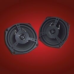 "Honda 01-05 GL1800 Front Rear Show Chrome 4.5"" Two Way Speaker Tweeter 13-102"