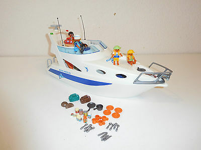 3645 pleasure yacht boat blue marlin playmobil