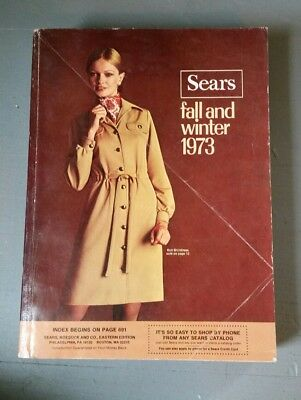 SEARS 1973 Fall and Winter Vintage Catalog Fashion Housewares 247G 1588 pgs