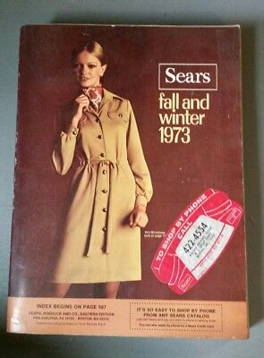 SEARS 1973 Fall and Winter  Vintage Catalog Fashion Housewares 247F 1124 pgs