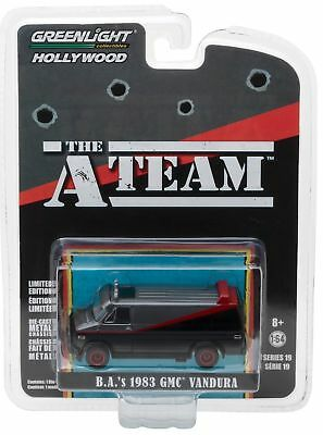The A Team - 1983 GMC Vandura Van ` A-TEAM VAN **RR**  Greenlight 1:64