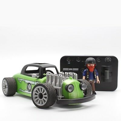 playmobil® RC Auto | 9091 | RC-Rock'n'Roll-Racer | Ferngesteuert | LED | Figur