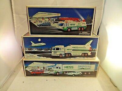 Lot Of 3 Hess Vehicles 1992 1996 & 1999 New In Box