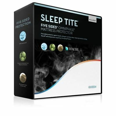 Five 5ided Mattress Protector with Tencel + Omniphase  Sleep Tite  Malouf