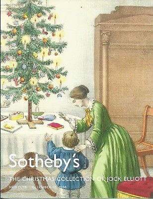 SOTHEBY'S CHRISTMAS COLLECTION of JOCK ELLIOTT Ephemera Catalog 2006