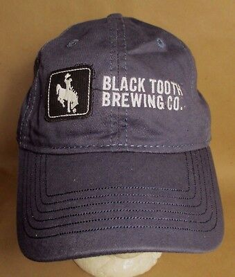 09f72e79635 Black Tooth Brewing Hat Cap Sheridan Wyoming USA Embroidery Unisex New