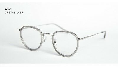 NEW Oliver Peoples Limited Edition WKG Glasses Japan MP246 Grey x Silver $420 NR