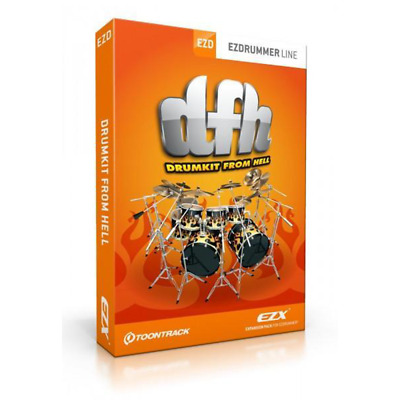 Toontrack EZdrummer - DrumKit From Hell Expansion Pack