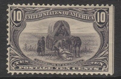 USA - 1898, 10c Slate Violet Trans Mississippi Expedition stamp - L/M - SG 296