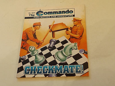 Commando War Comic Number 3377!!,2000,good For Age,17 Years Old Issue,v Rare.
