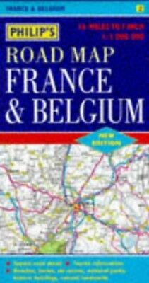 Philip's Road Map of France and Bel... by Stanford Maritime Lt Sheet map, folded