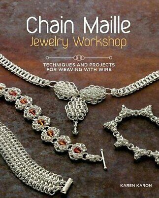 Chain Maille Jewelry Workshop: Technique by Karon, Karen Book The Cheap Fast