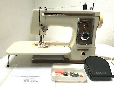 Frister & Rossmann 503 Electric Sewing Machine with Foot Control GWO