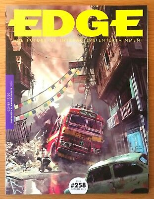 EDGE MAGAZINE ISSUES 223 + 230 +247 + 258 UNREAD 20th ANNIVERSARY COVER 17/20