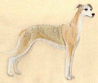 Large Embroidered Zippered Tote - Whippet C3526