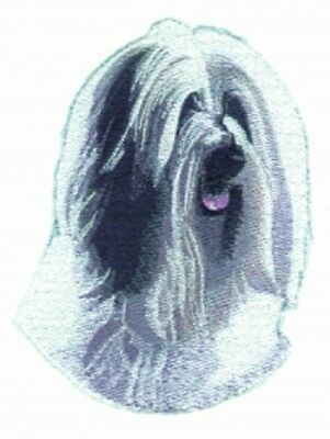 Large Embroidered Zippered Tote - Tibetan Terrier BT3070