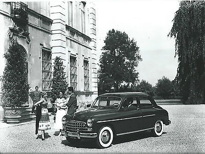 Fiat 1900 Granluce 1953/54 Fiat  Press Photograph Girls in 1950's Costume
