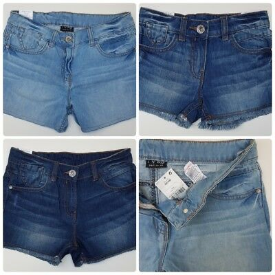 GIRLS` NEW NEXT DENIM SHORTS AGES 6 to 16