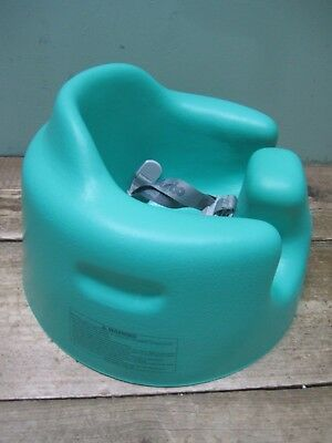 Portable Bumbo Baby Chair Seat with safety straps tray in Aqua Turquoise P242
