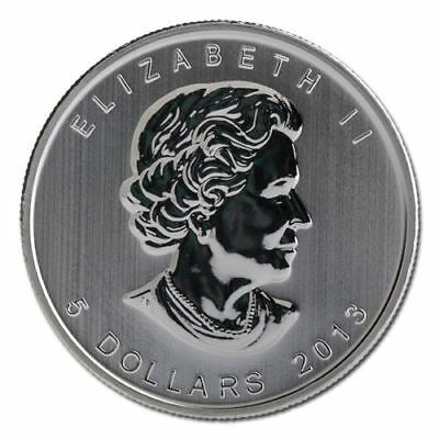 Canadian Silver Maple Leaf 2013 - 25th Anniversary COIN